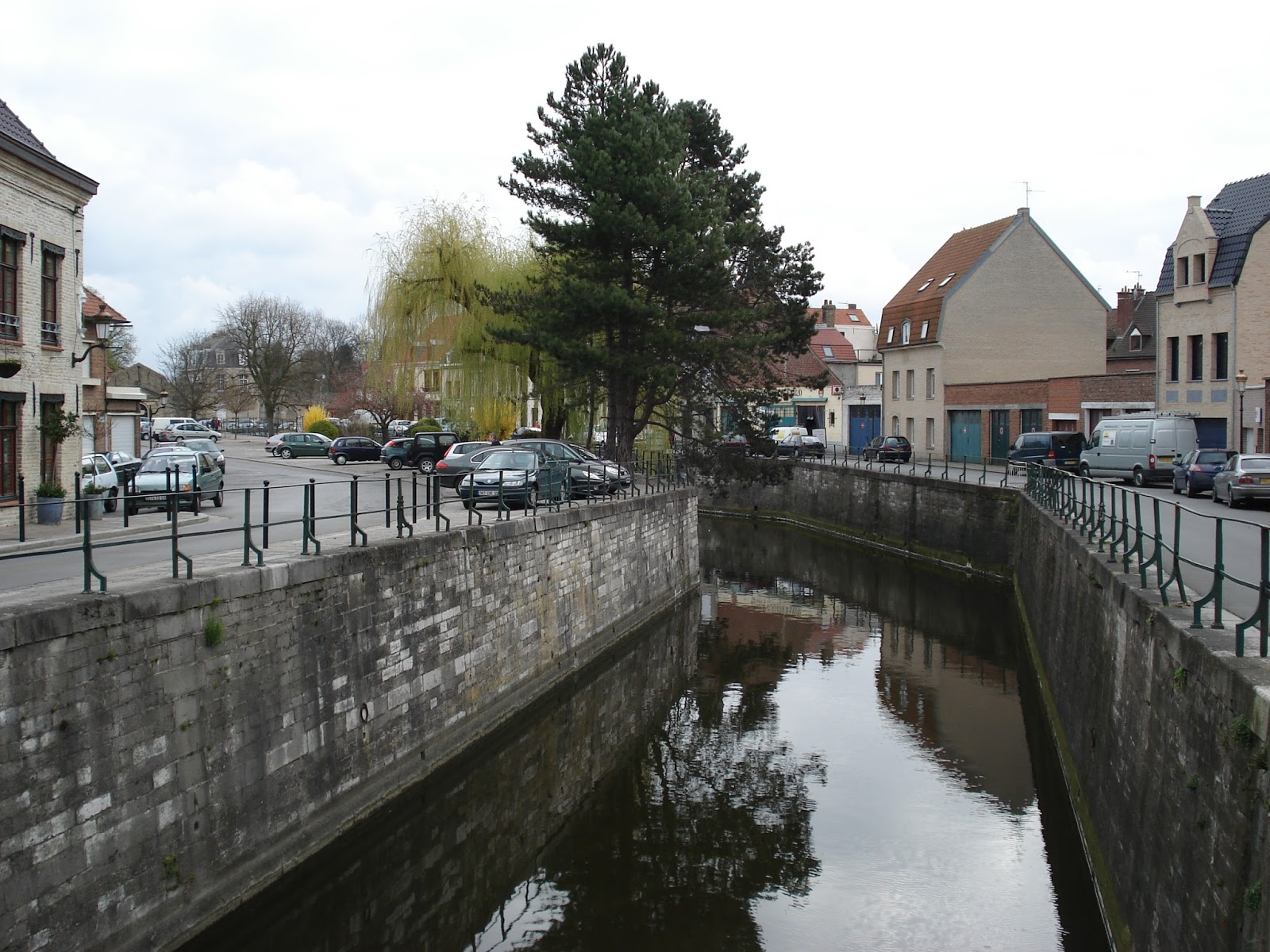 de Colme of Bergenvaart in Bergues