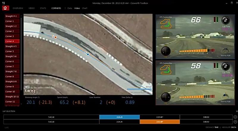 新型コルベットで走行の車両状況や映像を記録出来る「パフォーマンスデータレコーダー」を発表へ