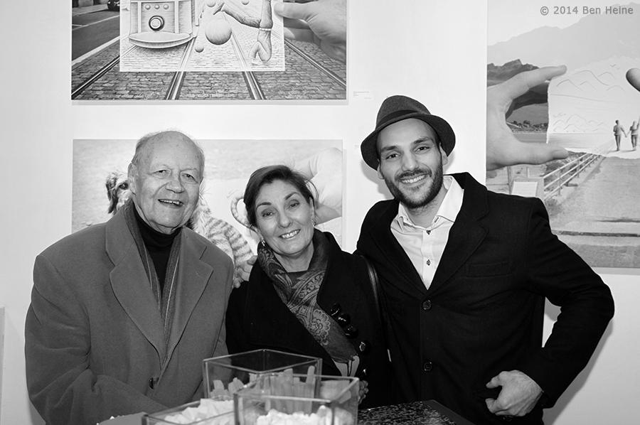 André Lebizay, Cathy Lebizay, Ben Heine (2014)