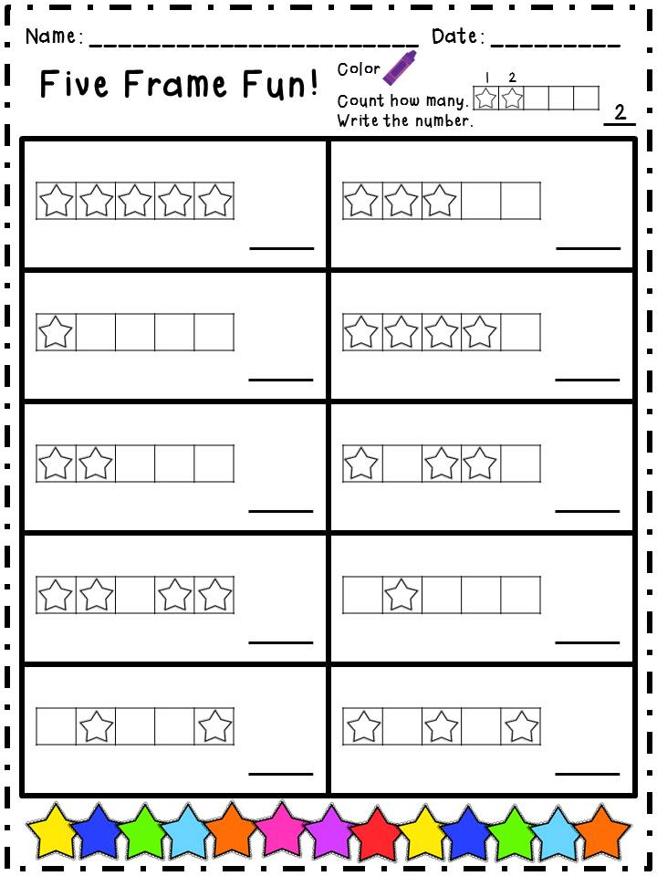 28+ [ Five Frame ] : 5 Frame Kindergarten Missmernagh Com ...