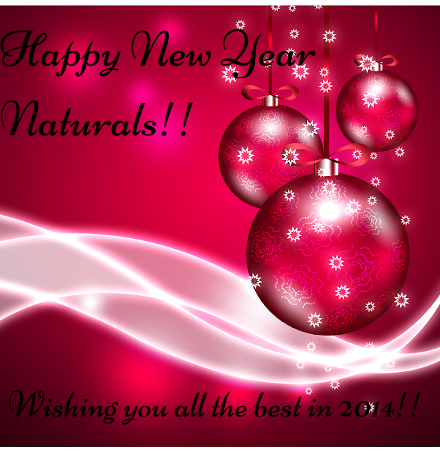 HAPPY NEW YEAR NATURALS!