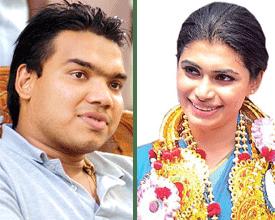 Namal rajapaksa And Hirunika Premachandra - Reader.lk