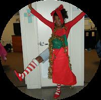 diy christmas halloween costume