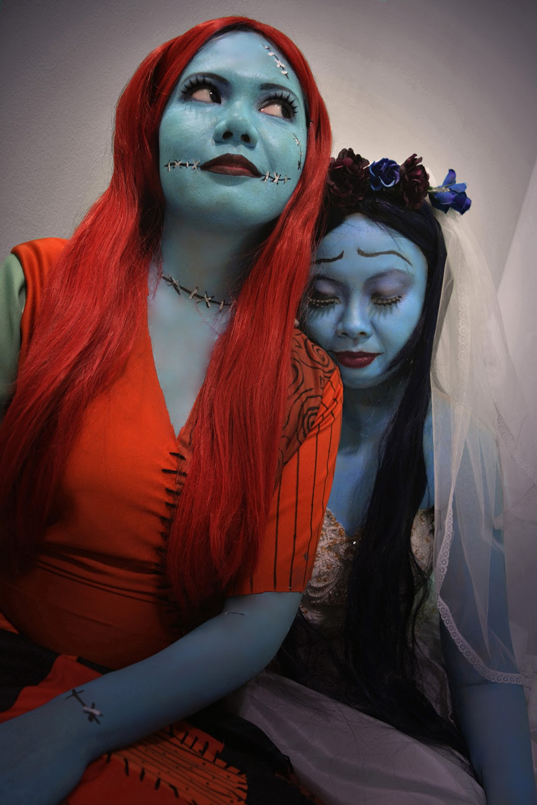 Sally & Emily ~ The Nightmare Before Christmas & Corpse Bride