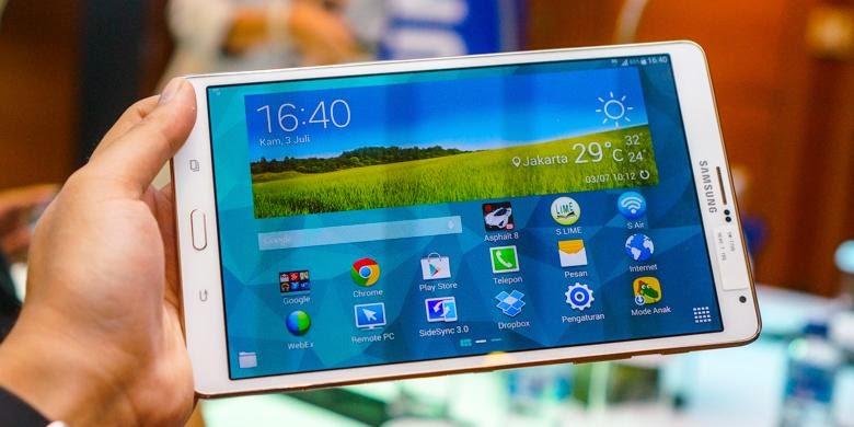 Inilah Spesifikasi Dan Harga Samsung Galaxy Tab S