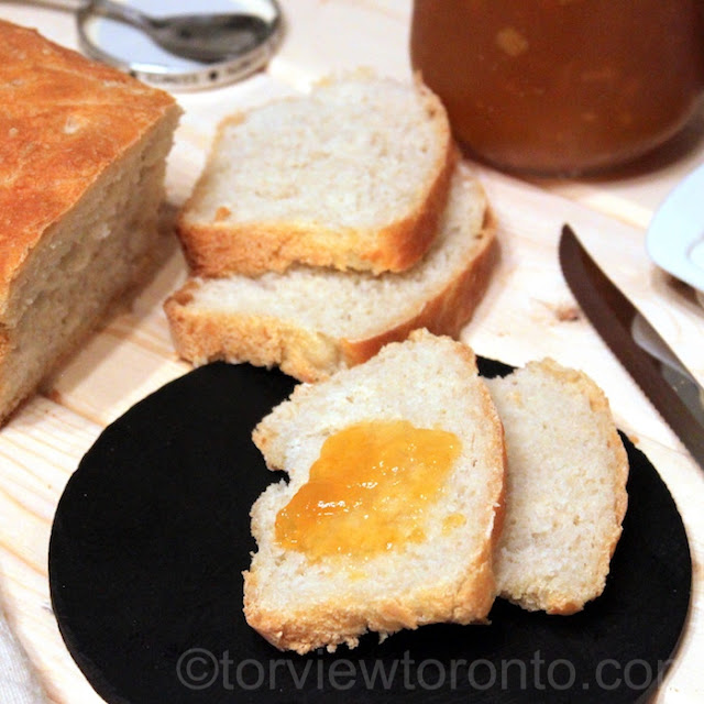 homemade baked bread