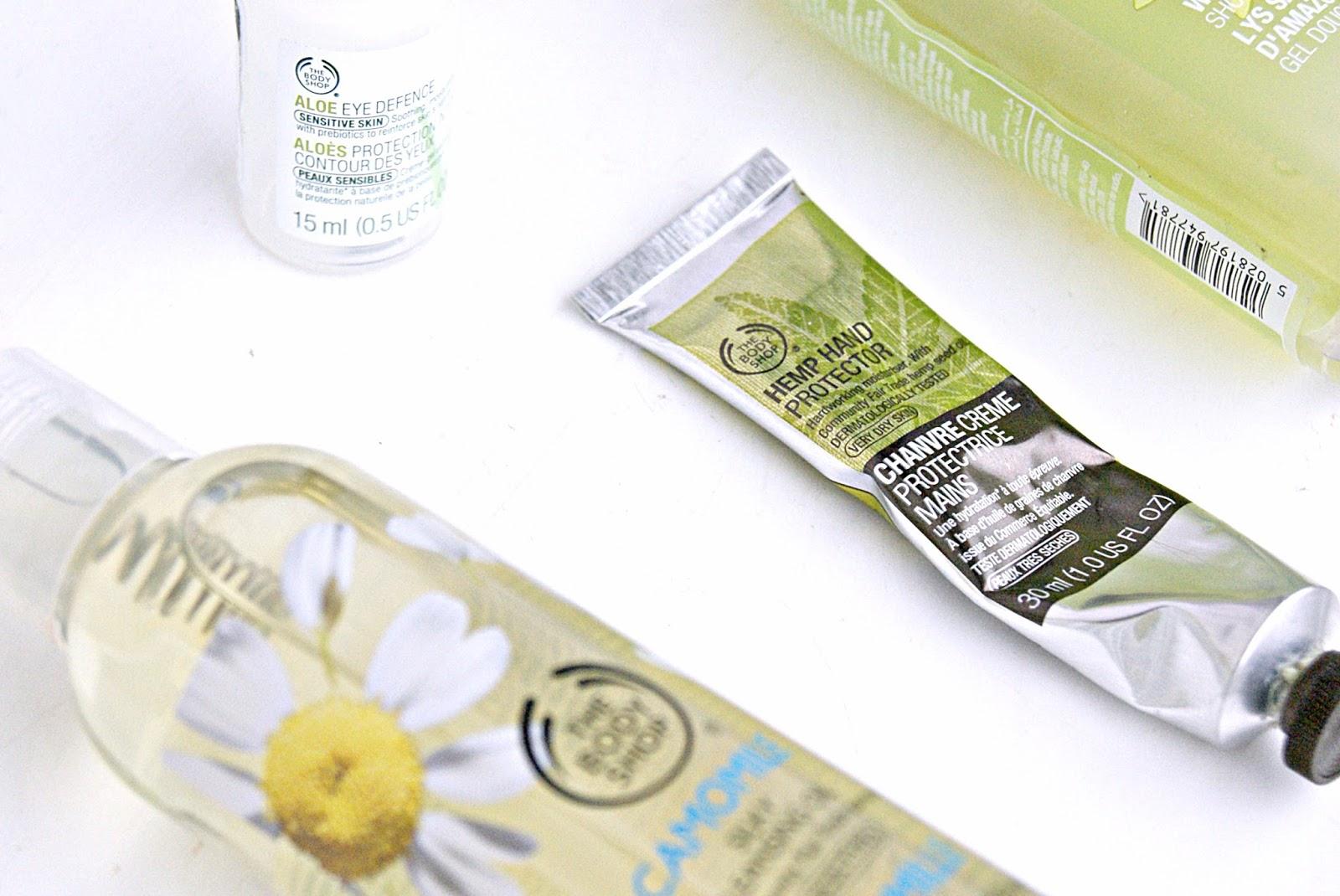 body shop aloe review cream moisturiser cleanser
