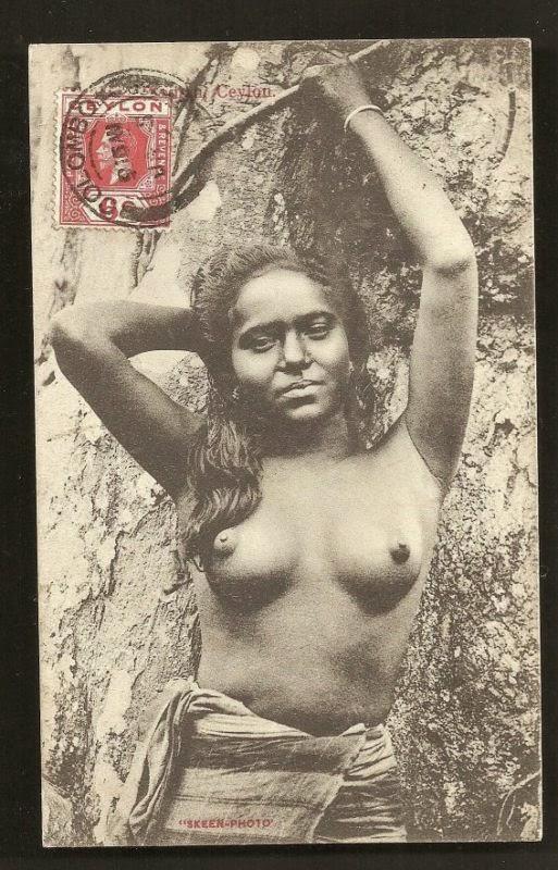 Rodiya Women - Ceylon (Sri Lanka)