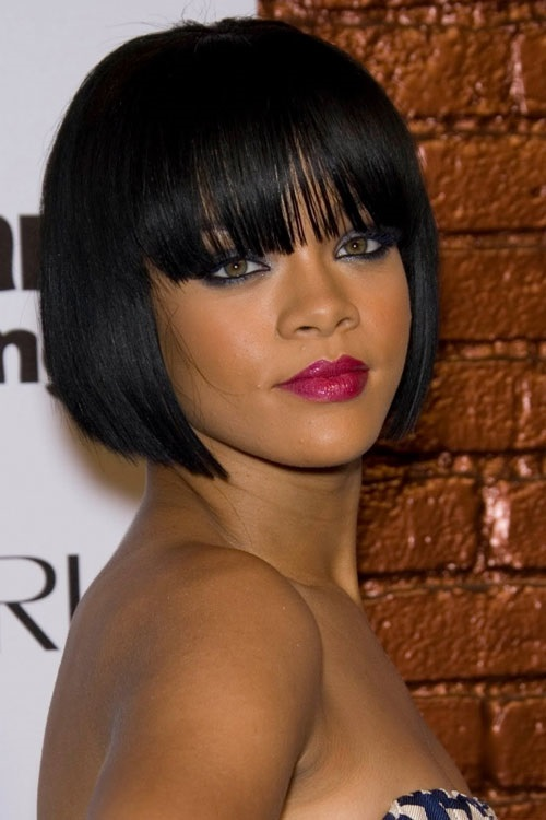 Bob Hairstyles for Black Women with Medium Hair