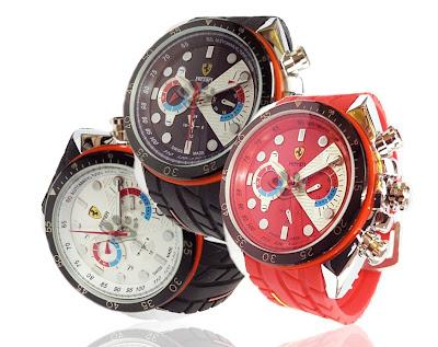 Jam Tangan Automatic | Kinetic | Otomatis | Ferrari | Murah Grosir | Pria | Karet