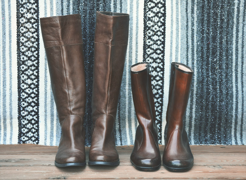 The Flying Clubhouse: Thrifty Fall Shopping - boots