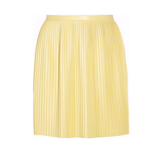 Tibi Faux Vegan Leather Mini Skirt from Net-a-porter