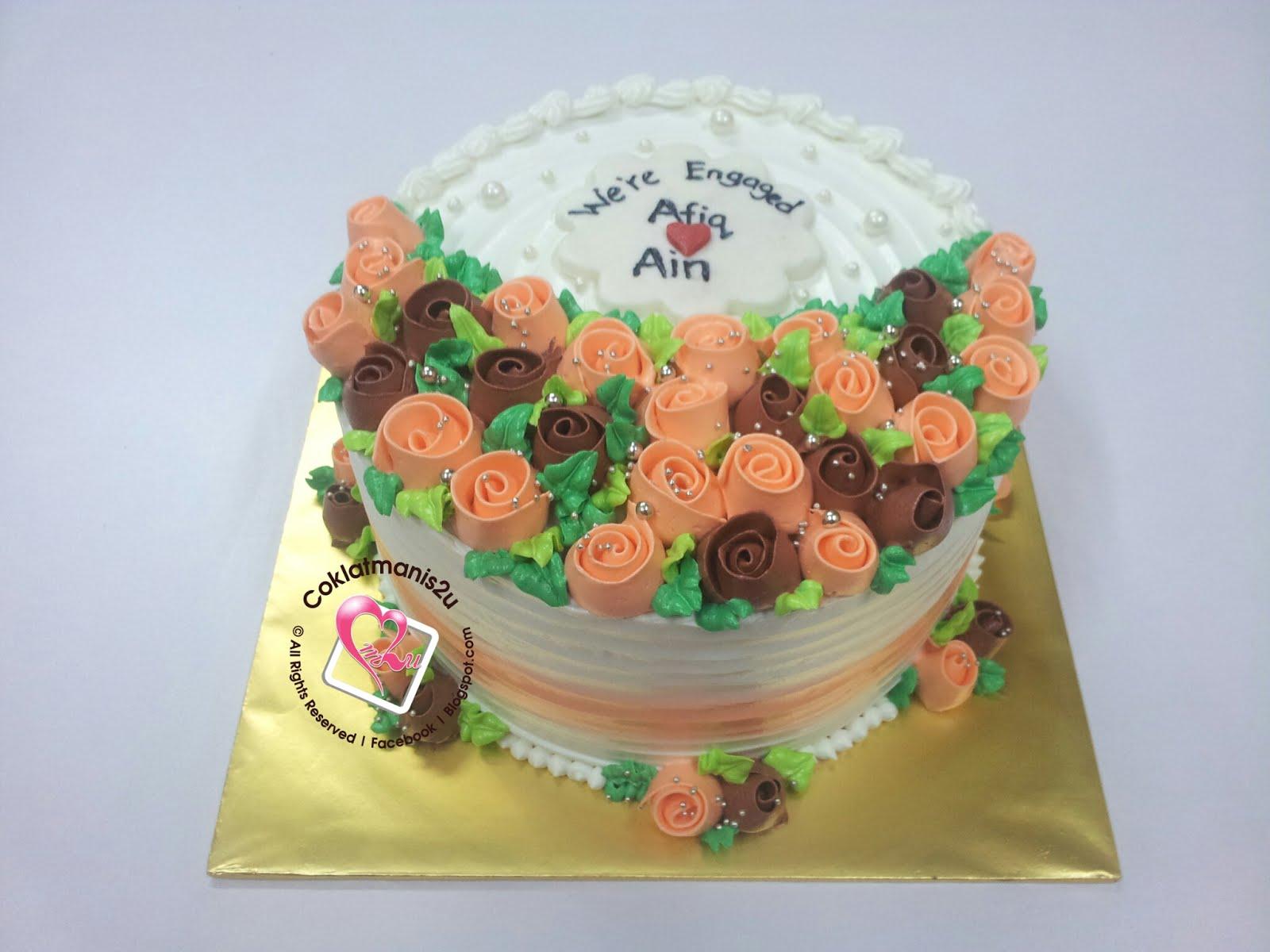 Hantaran Buttercream Cake
