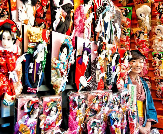 Hagoita-Ichi at Senso-ji Temple in Asakusa, Tokyo
