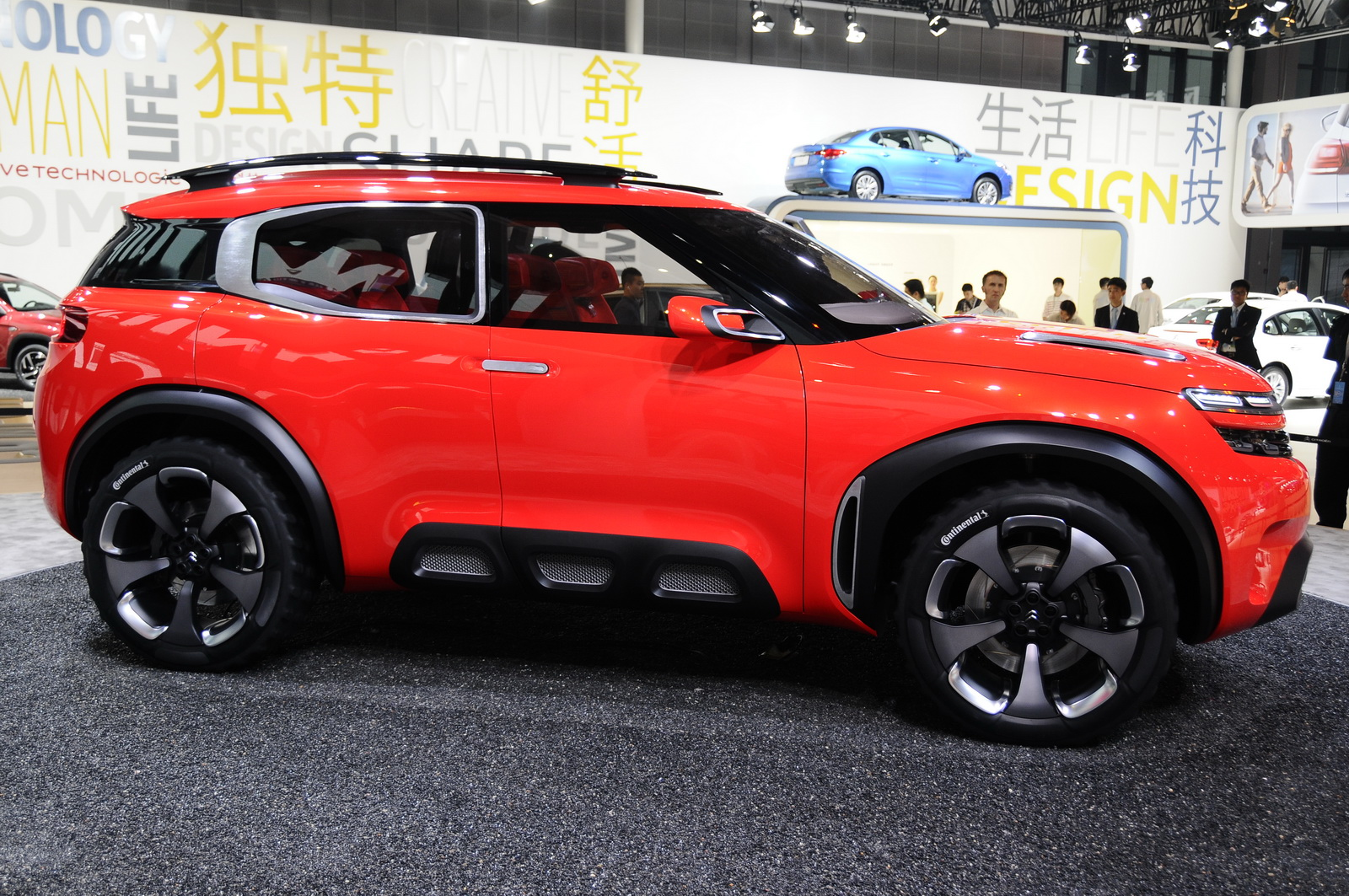 Citroen C4 Cactus Green >> Citroen's Funky Aircross Concept Is A Cactus On Steroids | Carscoops