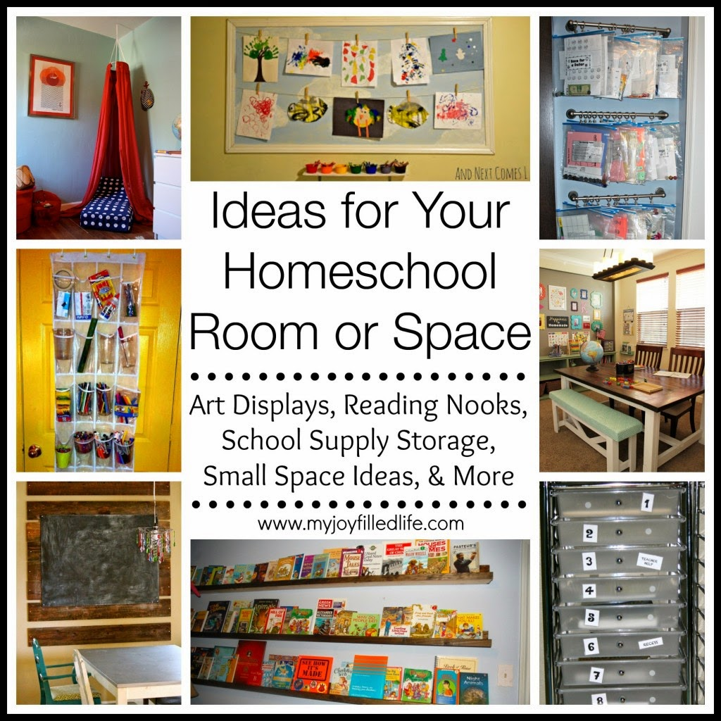 Mommy likes to teach 12 homeschool organization ideas for Home school room ideas