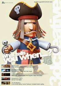 3DCreative Magazine Issue 024 August 2007