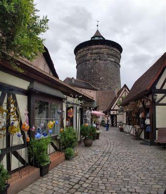 Mercado de los Artesanos (Handwerkerhof) Núremberg