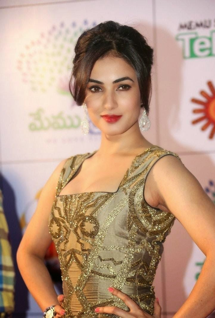 Sonal Chauhan at South Indian Movie Event