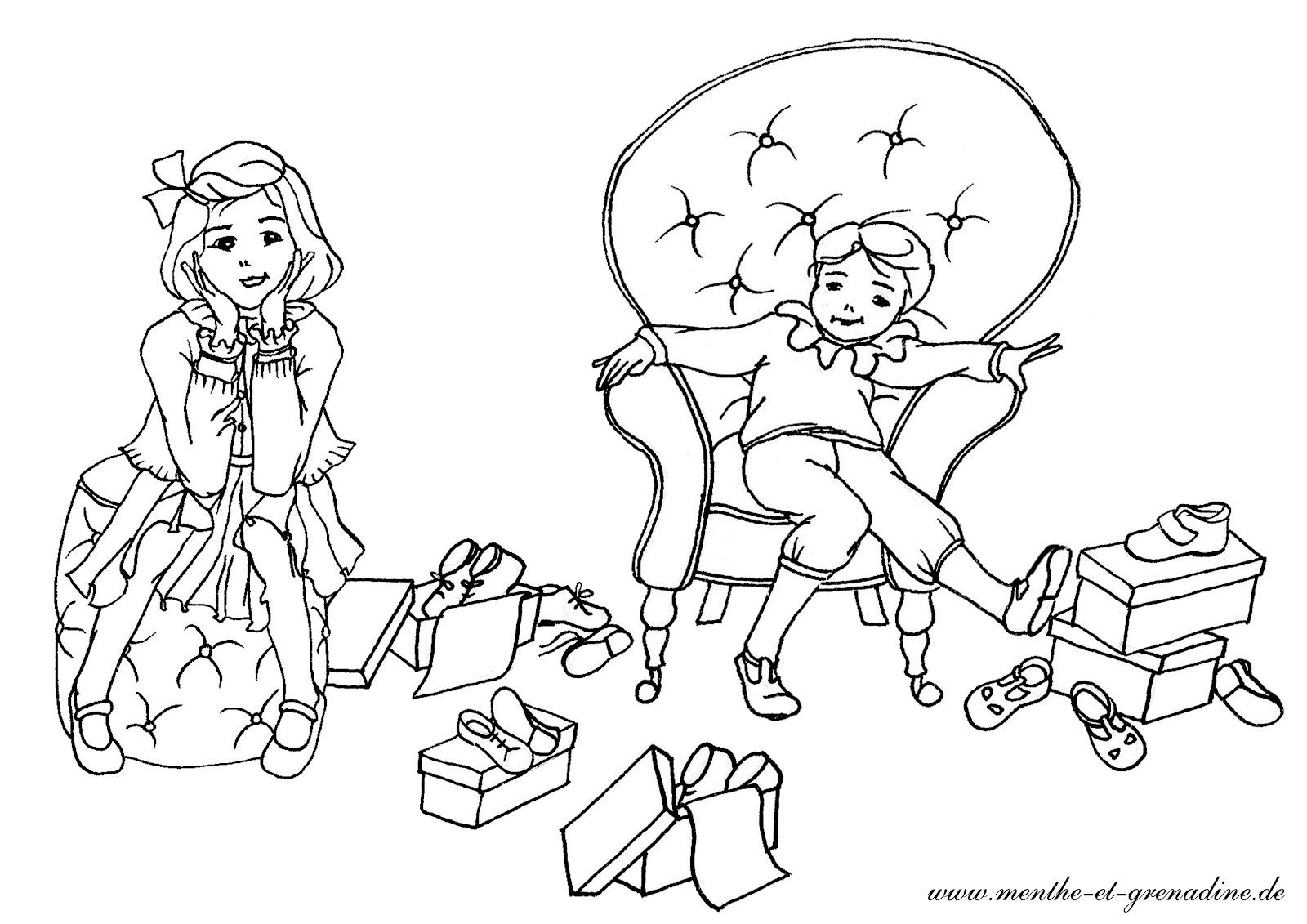 Malvorlagen Kinder Mädchen