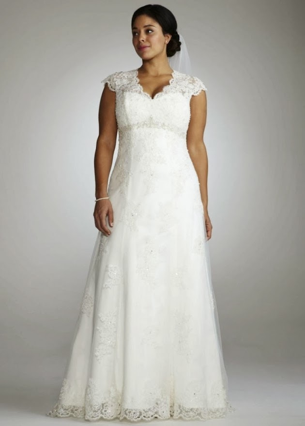 Plus size wedding dresses with sleeves wedding plan ideas for Plus size wedding dresses dallas