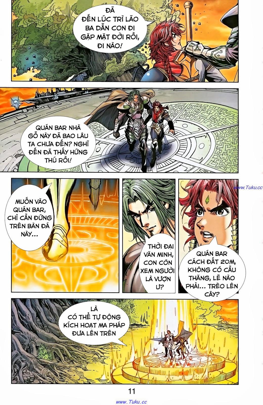 Dong Binh Thiên Hạ Chapter 1 - Trang 9