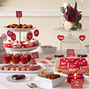Sweet table Saint Valentin graphique