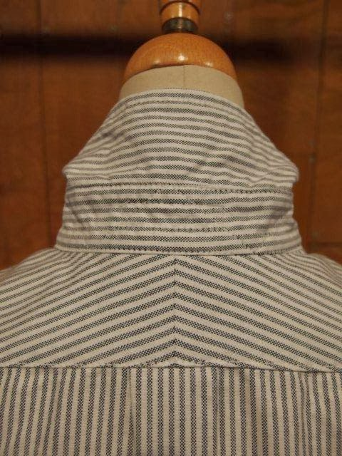 fwk by engineered garments 19th century bd shirt oxford stripe&tattersall