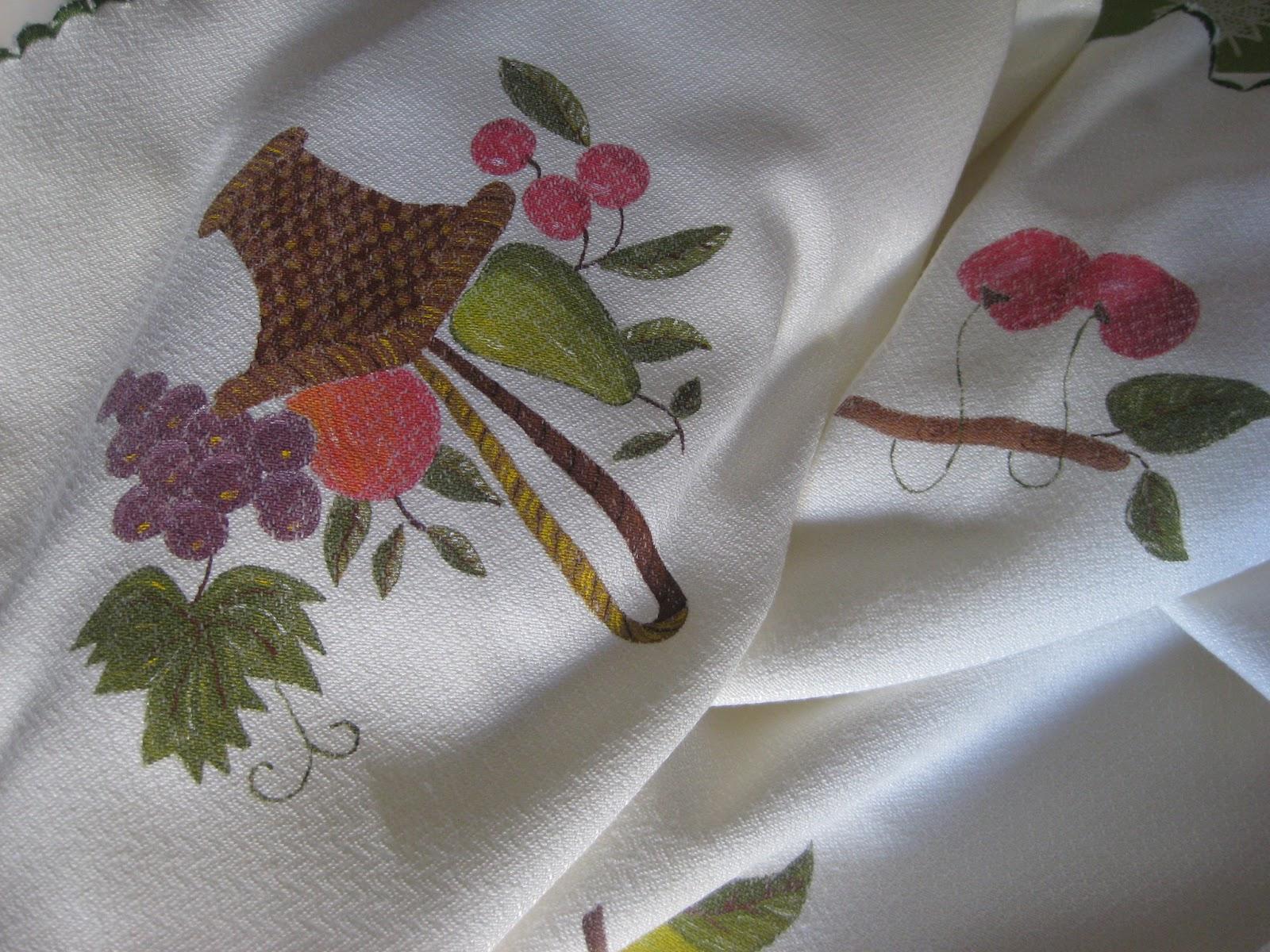 Con arte en las manos manteles for Manteles de tela