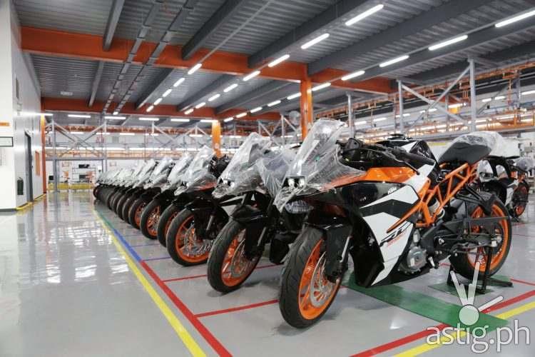 KTM Factory Assembly Plant Visit