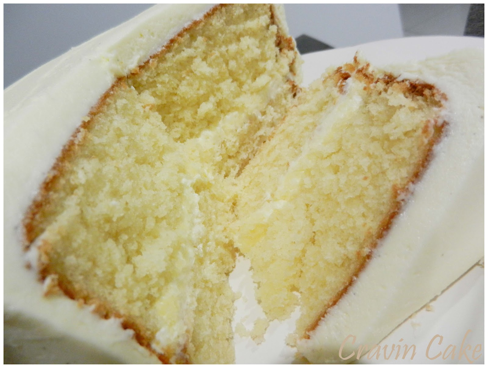 Cravin Cake: Moist and Delicious Vanilla Layer Cake