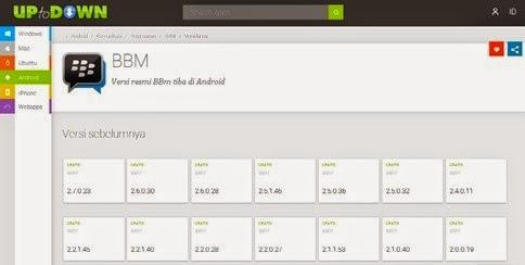 Download Aplikasi BBM Android Versi Lama