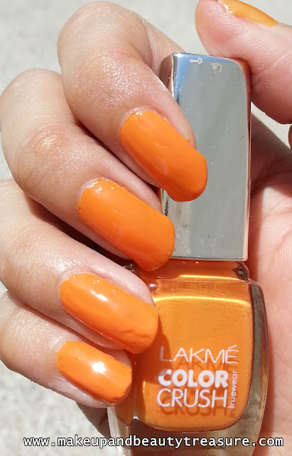 Lakme Color Crush Nail Enamel Shade No '07'