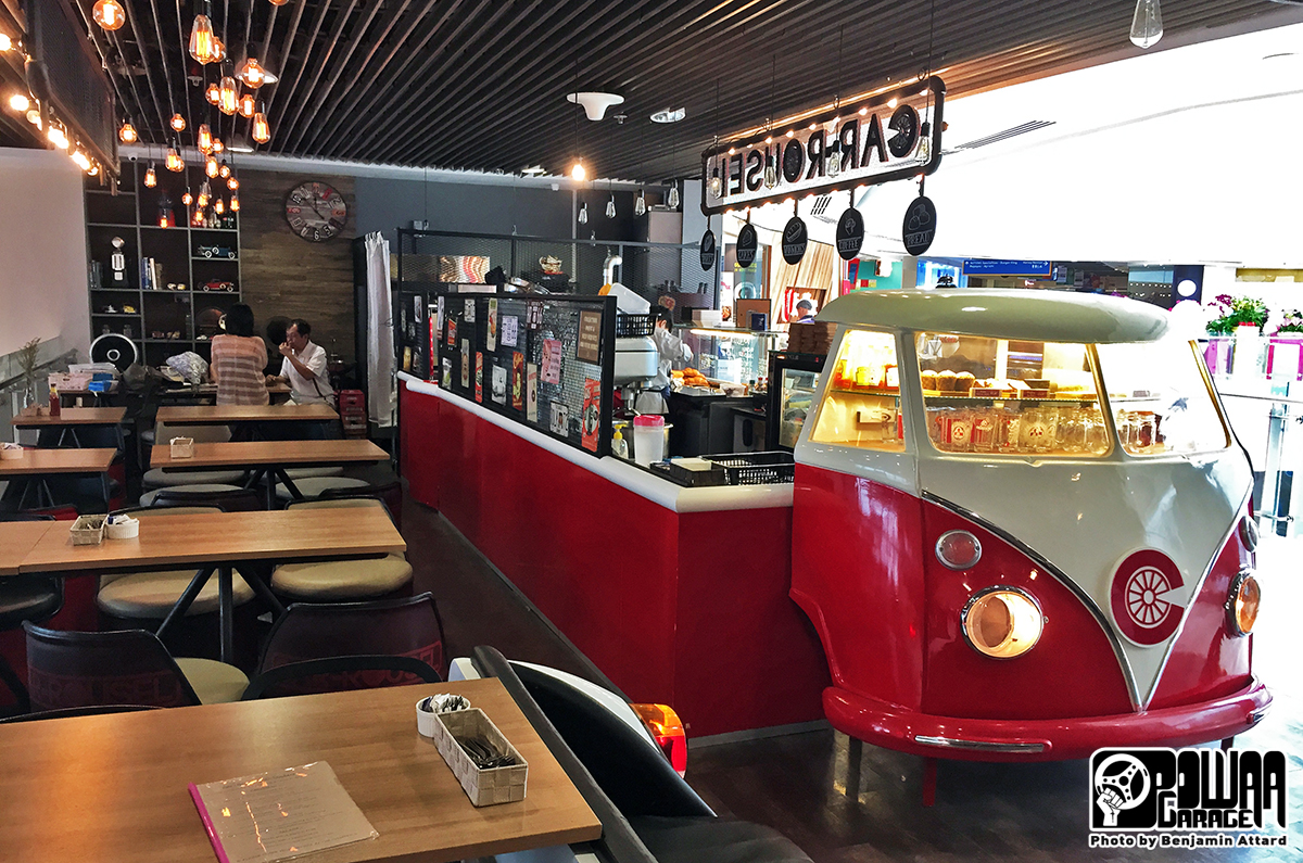 Its Rare To Find Good Properly Themed Cafes In Singapore And Car Rousel Is One Of The Few Successful Ones Immersion Immediate This Place Has
