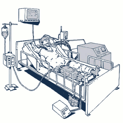 Maskiner til intensiv behandlig