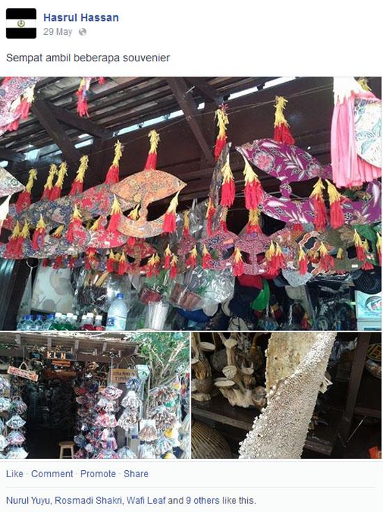 Jalan-jalan ke Kampung Kraftangan Kota Bharu