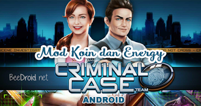 Cara Mod Stamina dan Koin Criminal Case Android