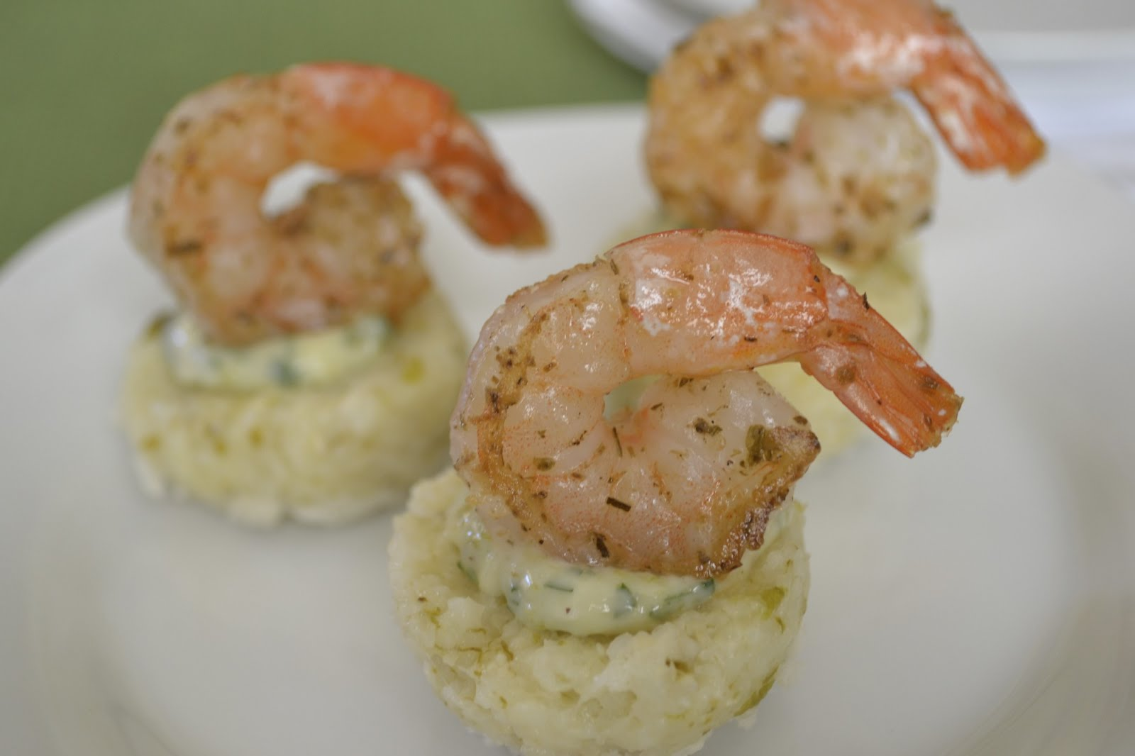 Green Chile Gourmand: Shrimp and Green Chile Grit Cakes ...