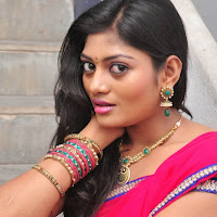 Soumya hot photos in indian half saree at pochampally ikat art mela launch