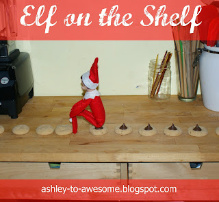 Elf on the shelf from ashley to awesome for Elf on the shelf chocolate kiss