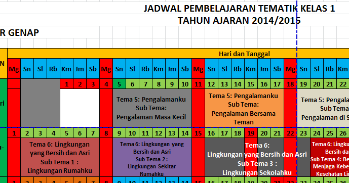 Download Jadwal Pelajaran Sd Kurikulum 2013 Lengkap Sdn 2 Tukangkayu Banyuwangi