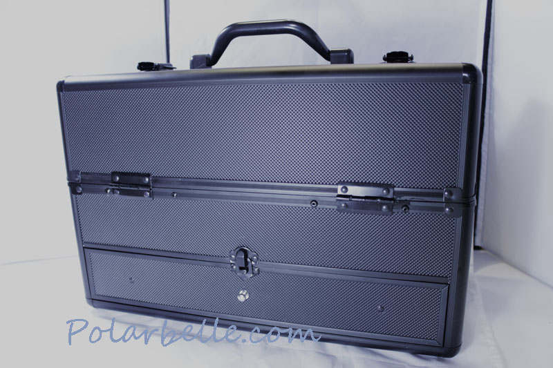 salon supplies, train case, makeup case, Mac train case