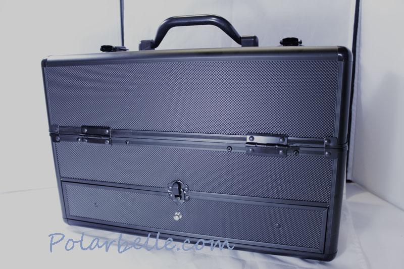 salon supplies, train case, makeup case, Mac train case