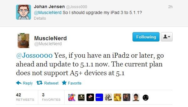 Prepare for iOS 5.1.1 untethered Jailbreak