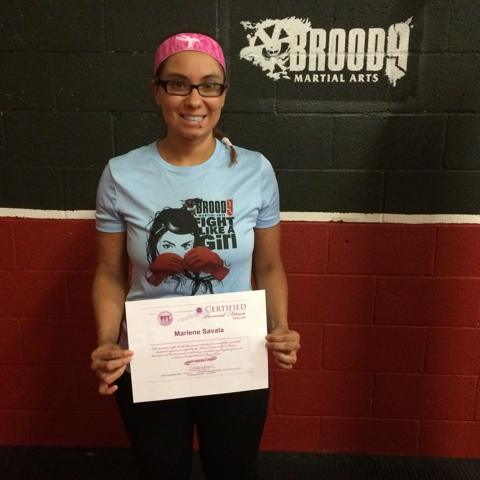 Marlene Savala Passes Nesta Pft Exam Martial Arts Fitness And
