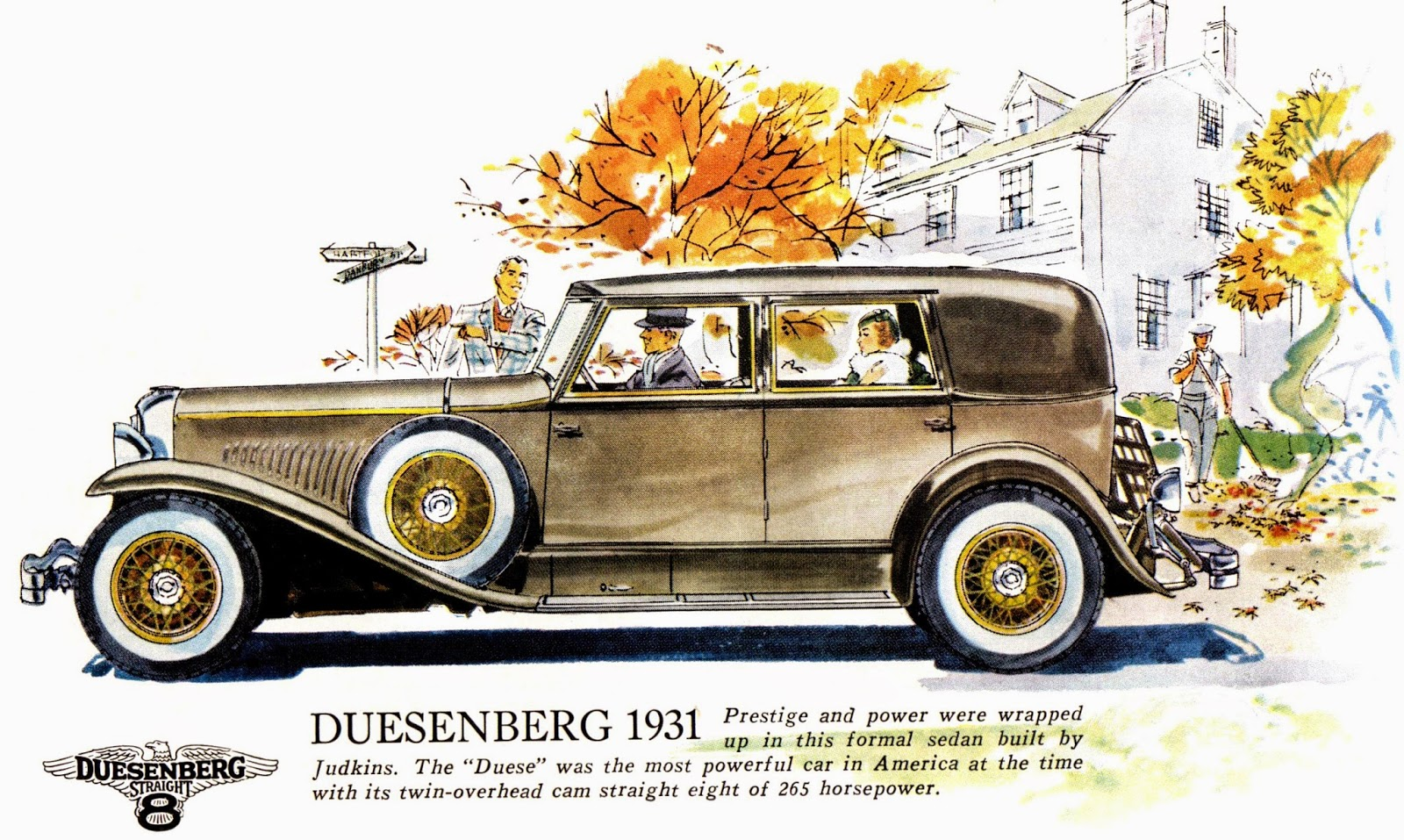 The Automobile and American Life: Olympian Automobiles of the 1930s ...