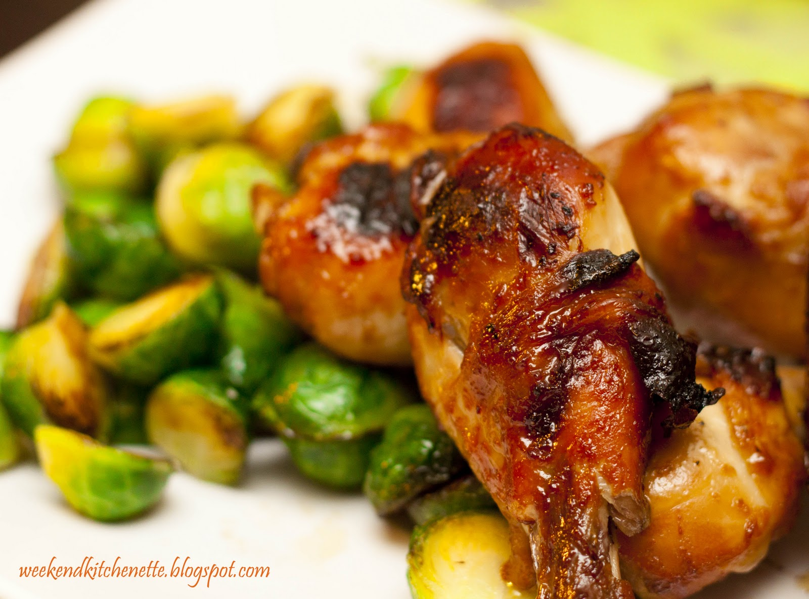 Weekend Kitchenette: Apricot Glazed Chicken