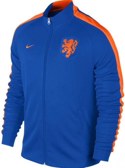 Nike - Netherlands N98 Track Jacket Authentic Varsity Royal Safety Orange