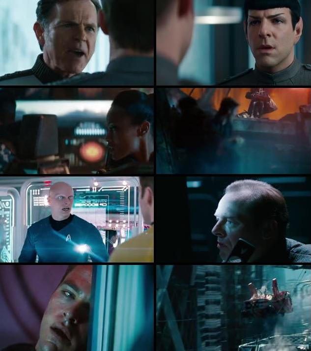 Star Trek Into Darkness 2013 Dual Audio Hindi 480p BluRay