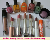 Indian Beauty Forever International Giveaway